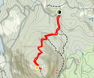 Mount Finlayson Trail: The Backside Map