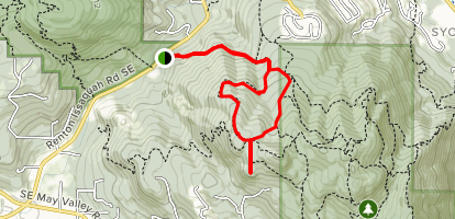 West Access and Chybinski Loop  Map