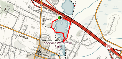 Sackville Waterfowl Park Map