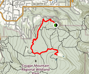 Coyote Creek to Klondike Swamp Trail Map
