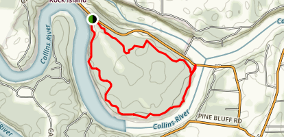 Collins River Nature Trail Map