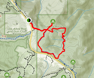 Skyline Summit Loop Trail Map
