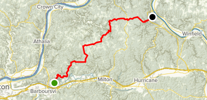 Kanawha Trace - West Virginia | AllTrails on greeley county map, doddridge county wv map, west va county map, grave creek mound map, hodgeman county map, delaware county map, monongalia county map, university of north carolina at chapel hill map, roane county map, charleston wv county map, sumner county map, upshur county wv map, chariton county map, shenandoah county map, nodaway county map, letcher county map, roosevelt county map, lincoln county map, boyd county map, kanwha county map,