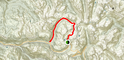 Lost Man Trail Map