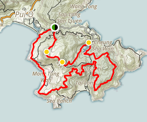Chi Ma Wan Country Trail Loop Map