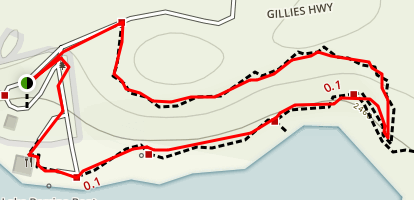 Lake Barrine Rainforest Circuit Map