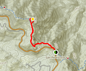Incinerator Ridge Trail to Barnum Rock and Leopold Point Map
