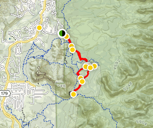 Broken Arrow 4x4 Trail Map