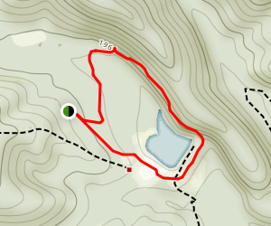 Todd Lake Trail Map