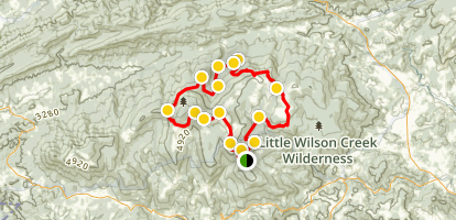 Mount Rogers Loop Trail Map