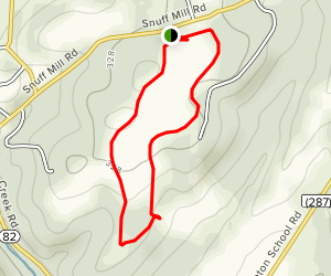 Oversee Farm Trail Map