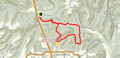 Yellow and Silver Loop Map