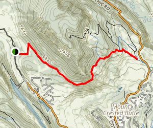 Snodgrass MTB Trail Map