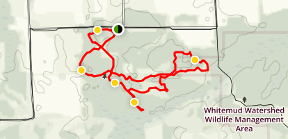 Langford Trails Loop Map