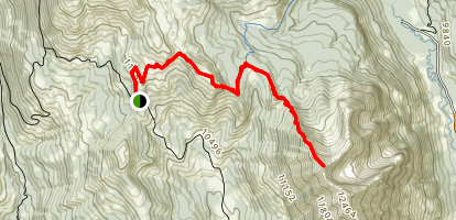 Gothic Mountain False Summit Map