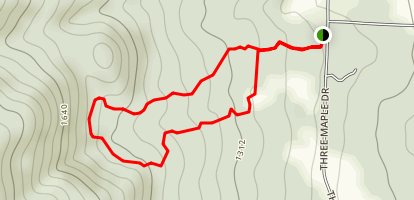 PEW Trail Map