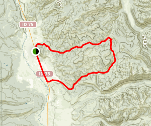 Fisher Creek Loop Map