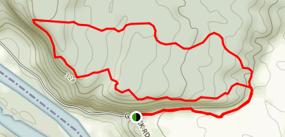 Tim's Trail - The Nature Conservancy Map