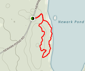 Newark Pond Trail Map