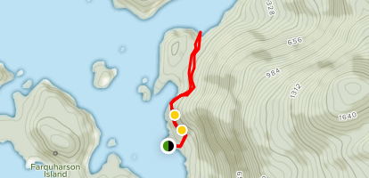 Blow Hole & Loop Trails Map