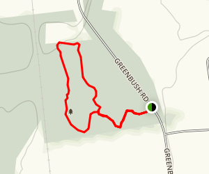 Williams Woods Trail Map