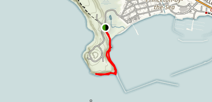 Maverick's Beach Trail Map