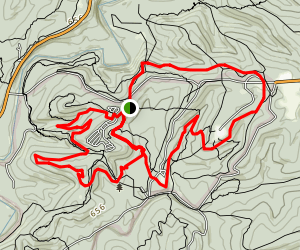 Rockey Ridge, Breden Ridge, CCC Ghost, Camp Group and Fire Tower Trail Map