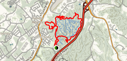 Chicopee Outer White Tail Trail Map