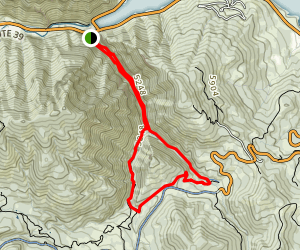 Wheeler Creek and Art Nord Trail Loop Map