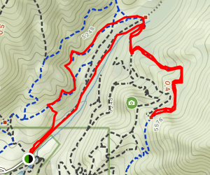 Red Butte Canyon Overlook Map
