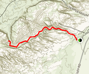 Wildhorse Canyon Map