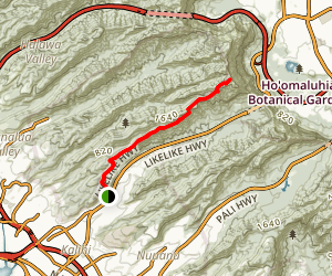 Bowman Trail Map