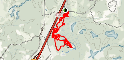 Buckwallow Mountain Bike Trail Map