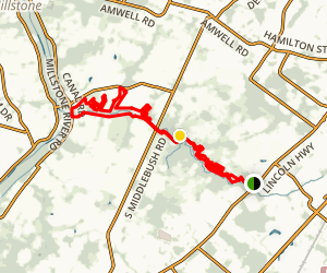 Six Mile Run at Franklin Township Map