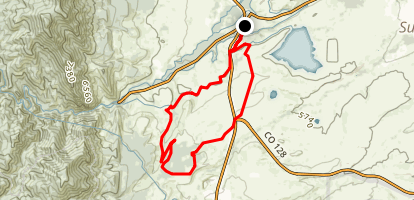 Spring Brook Loop Map