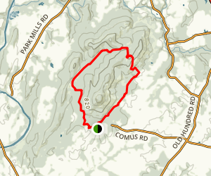 Sugarloaf Yellow Trail Map