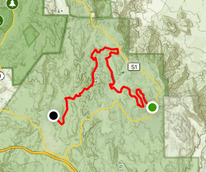 Big Laguna Trail to Noble Canyon Map