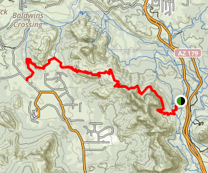Hiline Trail Map