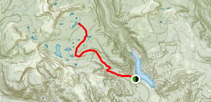 Clements Lake Map