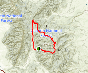Bangtail Divide Loop Map