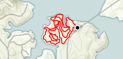 Wilson Lake Loop Map