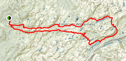 Emigrant Lower Loop Map