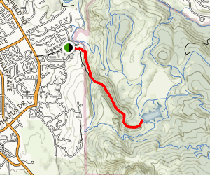 Lake Ilsanjo via Spring Creek Trail Map