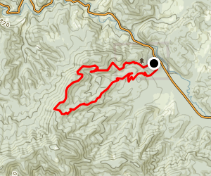 Whistle Punk to Springboard Loop Map