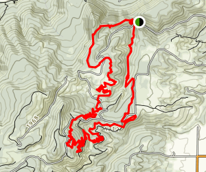 Post Canyon Hot Lap (CLOSED) Map