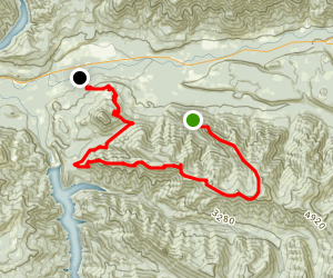 Olallie Trail to O'Leary Road Map