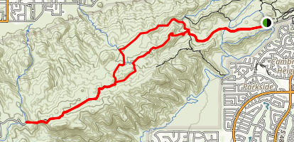 East National Loop Map