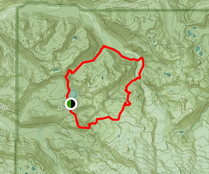 Spray-Seattle Park Trail to Northern Loop Trail and Wonderland Trail Map