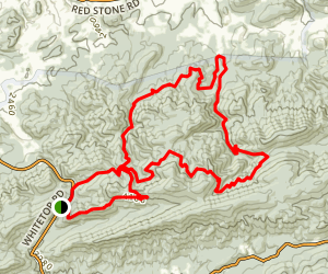Iron Mountain to Old FR84 loop Map