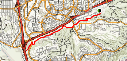 Marvin Gerst Trail Map